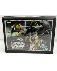Vintage Star Wars Vinyl Action Figure Case // C-8 No Insert/Missing Some Decals