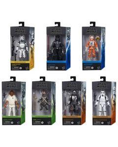 Hasbro Star Wars Black Series 6-Inch Action Figures Wave 1 Set of 7