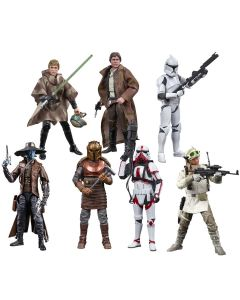 Star Wars The Black Series 6-Inch Action Figures Wave 2 Set of 8