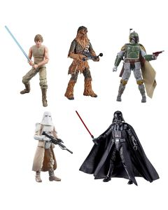Vintage Star Wars The Black Series ESB 40th Anniversary 6-Inch Action Figures Wave 3 Case