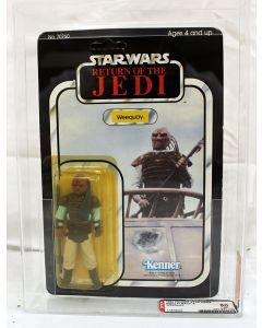 Vintage Star Wars ROTJ Carded Weequay Action Figure // AFA 60 Y-EX (C70 B60 F85)