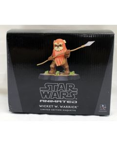 Star Wars Gentle Giant Animated LE Maquette Wicket MIB