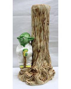 Vintage Star Wars Sigma Boxed Yoda Vase C9 with C8 Box