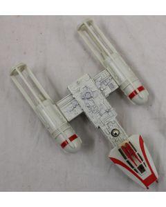 Vintage Star Wars DieCast Loose Y-Wing Fighter - C7.5