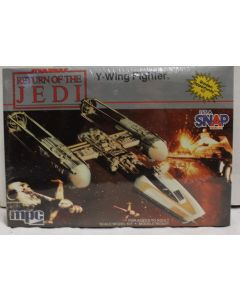 Vintage Star Wars ROTJ Boxed Y-Wing Fighter MPC Model Kit - MISB C8