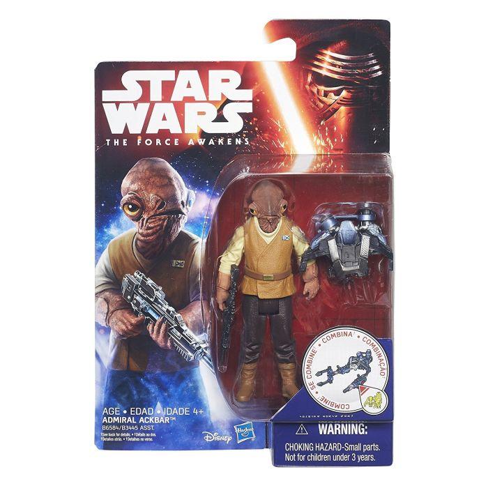 Admiral Ackbar The Force Awakens 3.75 figure Hasbro