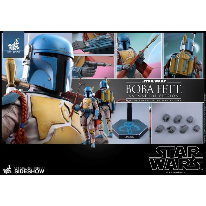 Boba Fett The Force Awakens Action Figure Hot STAR WARS The Black Series