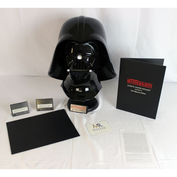 Star Wars Collectibles Prop Replicas Darth Vader Helmet Signature Edition Master Replica Brian S Toys Brian S Toys